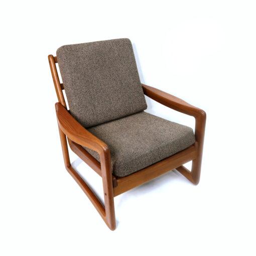 Sun Cabinet solid teak Danish Modern armchair