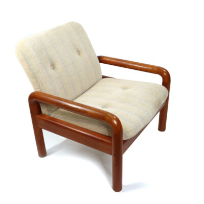 Solid teak Danish Armchair by DScan
