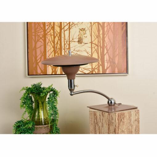 M.G. Wheeler saucer lamp