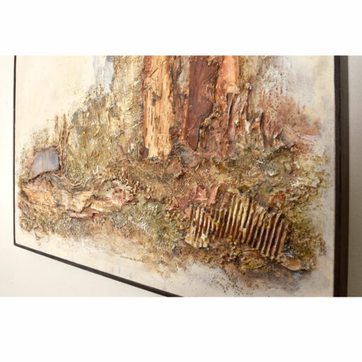 Irma Baker Mixed Media Landscape Earthen Painting