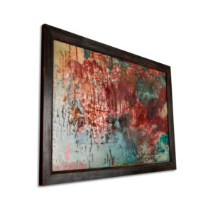 Kaleidoscope Mid Century Modern Abstract Expressionist Painting by Hofmann