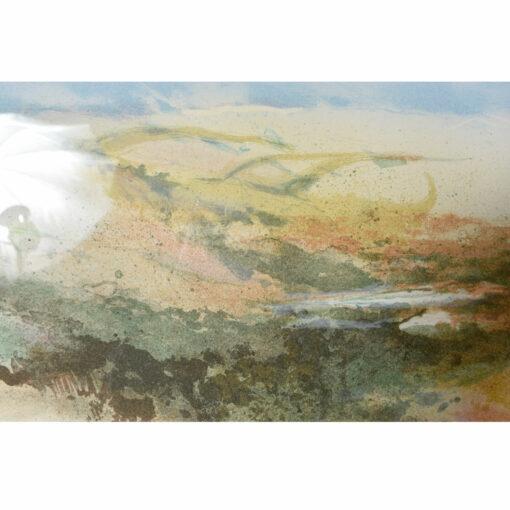 John Maxon Hi Rider landscape seascape Aquatint Etching