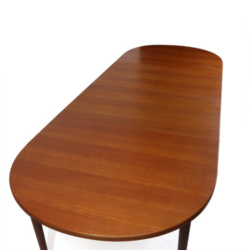 Nils Jonsson for Troeds Vintage Expanding Oval Teak Dining Table