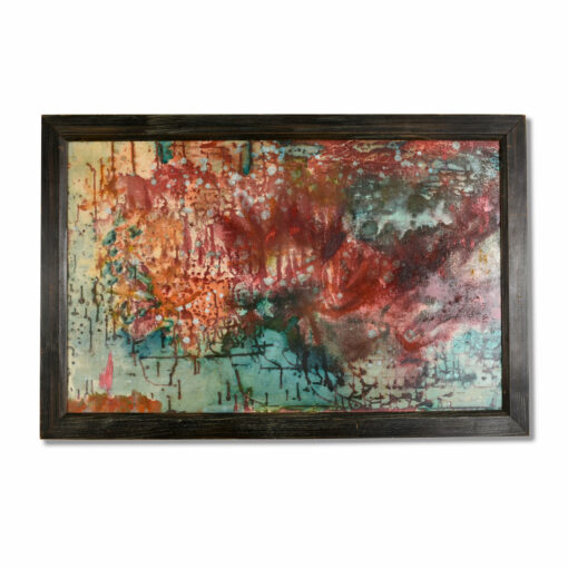 Mid Century Modern Abstract Expressionist Painting by Hofmann Finland