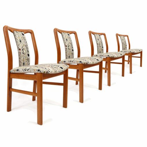 Boltinge teak dining chairs