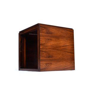 Kai Kristiansen Danish Modern Rosewood Cube Nesting Tables