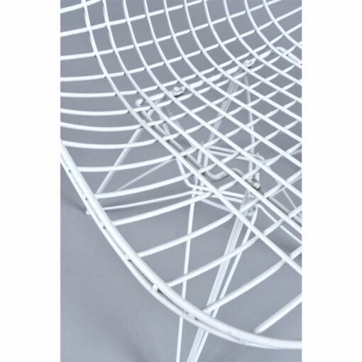 White Eames for Herman Miller DKR Wire Chairs Indoor Outdoor Chairs