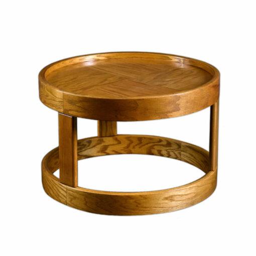 Howard Furniture Solid Oak Round Side Table